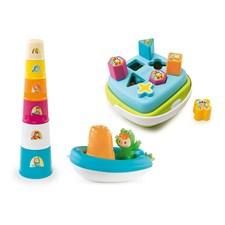 Babyleksaker 3-pack presentset, Cotoons