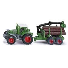 Traktor med tømmertilhenger, Siku