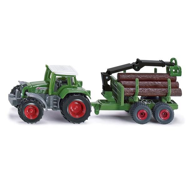 Traktor med timmersläp  Siku - leksaksbilar & fordon