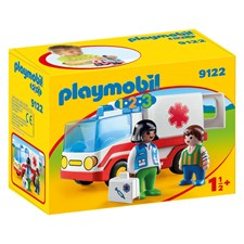 Räddningsambulans, Playmobil 1.2.3 (9122)