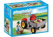 Traktor med last, Playmobil