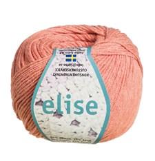 Elise Garn Bomullsmix 50g Pastell Aprikos (69208)