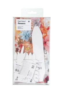 Pappersblommor Krysantemum/Dahlia 11 st