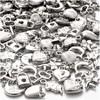Sølvcharms, str. 15-20 mm, hullstr. 3 mm, 80 g