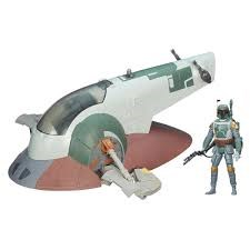 Star Wars, The empire strikes back, Class 2 Vehicle, Slave I with Boba Fett