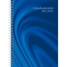 Kalender A5 Läraren Vivendi Blå 2021/2022 Almanacksförlaget