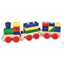 Stacking train, Tåg med klossar, Melissa & Doug