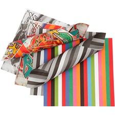 Origamipaperi, koko 15x15 cm, 80 g, 50 laj. arkki