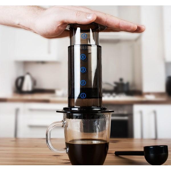 Aeropress lage kaffe