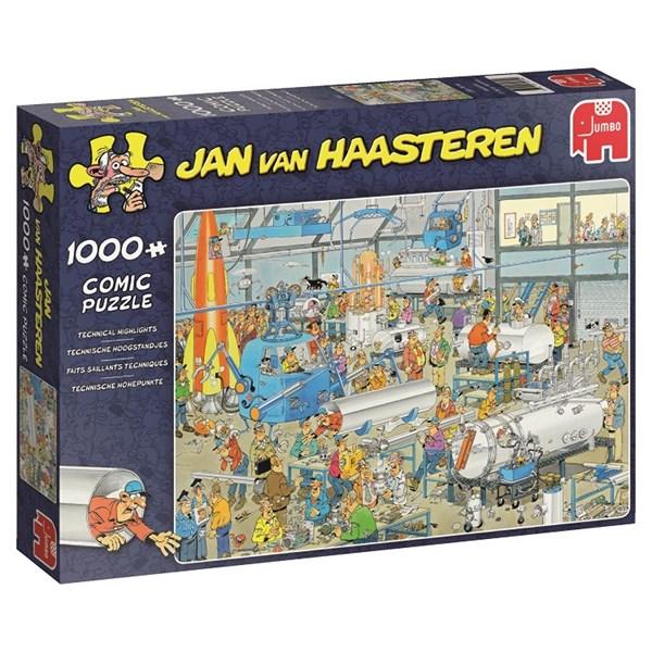 Jan van Haasteren, Technical Highlights, Pussel 1000 bitar