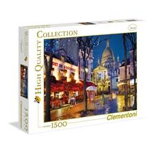 Paris Montmartre Puslespill 1500 biter Clementoni