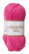 Alpacka Solo Ullgarn 50g Cerise (29111)