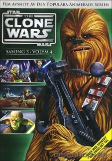 Star Wars - The Clone Wars - Säsong 3 vol 4