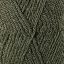 Drops, Alaska Uni Colour, Garn, Ullgarn, 50 g, Olivenmelert 51