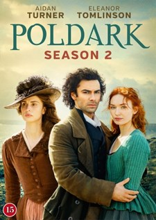 Poldark - Säsong 2 (4-disc)