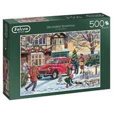 December shopping, Pussel 500 bitar
