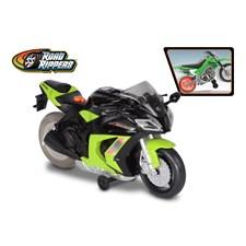 """10"""" moottoripyörä, vihreä"""