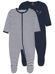 2-pack pyjamas, Blå, Name it