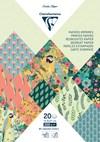 Paperilehtiö, A5, 20 arkkia kuvioilla, Kiribati
