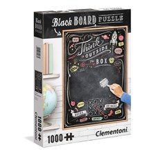Puslespill, Blackboard Puzzle, Think Outside the Box, 1000 brikker