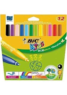 Tuschpennor Eco XL 12 Färger