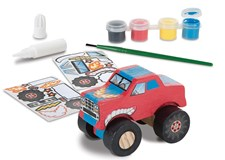 Decorate your own, Monster truck, Melissa & Doug