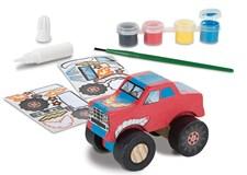 Dekorer din egen monster truck, Melissa & Doug