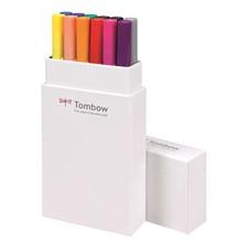 Brush Pen Ritpennor Tombow ABT Dual Brush Bas 12-pack