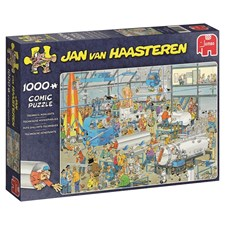 Jan van Haasteren, Technical Highlights, Pussel 1000 bitar