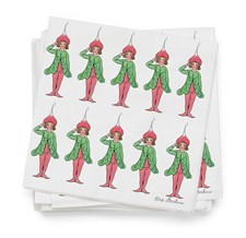Servietter, Elsa Beskow, Reddik, 20-pack, Design House Stockholm