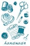Stempel, silikon, Sysaker, 10 x 18,5 cm