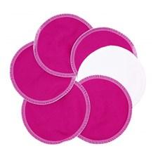 Amningsinlägg Stay Dry 12cm, 3 par Cyklamen, ImseVimse