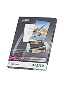 Laminointitasku LEITZ A4 UDT 125 mic. Pakkauksessa 100 kpl.