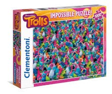 Trolls Impossible Puzzle, 1000 palaa