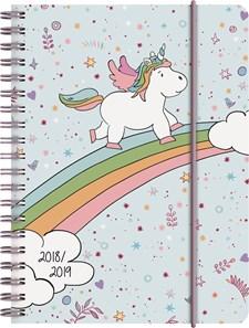 Skolkalender A6 Unicorn FSC