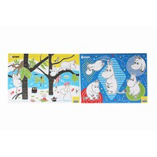 Rampussel A4, 2-pack, Mumin