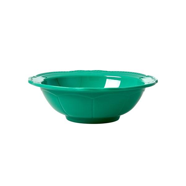 Rice Skål D  15 cm Melamin Mörkgrön (grønn) - tallrikar & skålar
