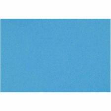 Fransk kartong, A4 210x297 mm, 160 g, 1 ark, Turquoise Blue