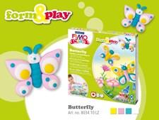 FIMO kids -muovailupakkaus Perhoset
