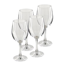 Modern House Pure & Simple Vitvinsglas 4-pack Klar