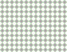 Bomullstoff Grønt/Rosa 50x140cm