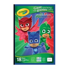 PJ Masks Giant Colouring with Stickers