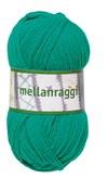 Mellanraggi Garn Ullmix 100g Emerald Grön (28205)