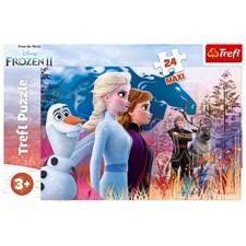 Magical Journey, Frost II, Puslespill, Maxi 24 brikker, Trefl