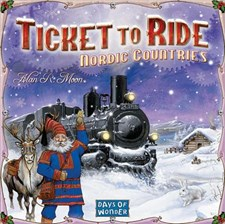 Ticket To Ride, Nordic Countries, Sällskapsspel