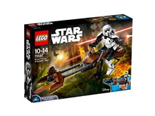 Scout Trooper & Speeder Bike, LEGO Star Wars (75532)