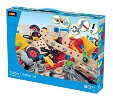 Kreativt byggesett, 271 deler, Brio Builder