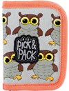Plånbok Uggla, Grå, Pick & Pack