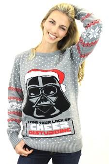 Julegenser Darth Vader Xmas Jumper