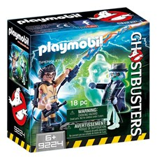 Spengler and ghost, Playmobil Ghostbusters (9224)